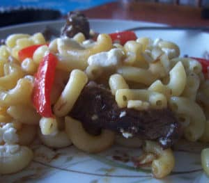 Thai Inspired Beef and Pasta