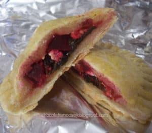 Swiss Chard, Beet, and Goat Cheese Empanadas | www.chocolatemoosey.com