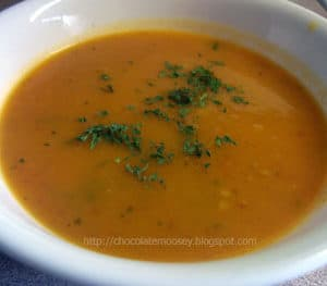 Curried Winter Squash Bisque