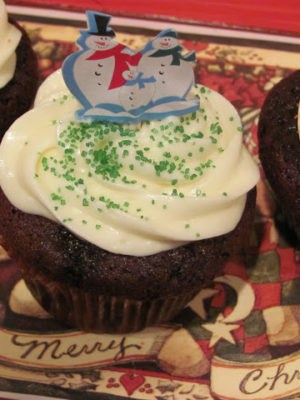 Chocolate Gingerbread Cupcakes (old post)