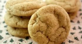 Maple Gingersnap Cookies