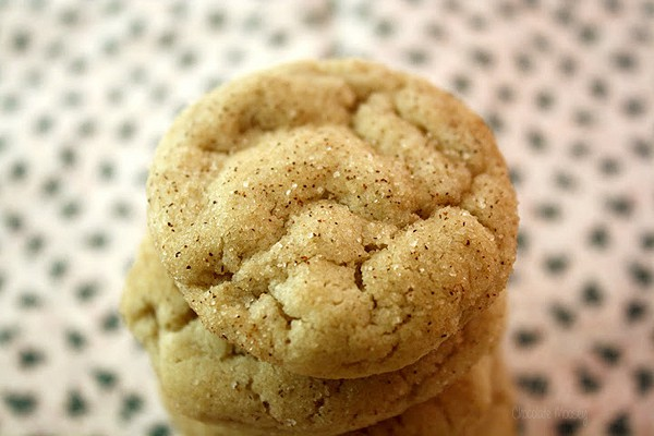 Maple Gingersnap Cookies