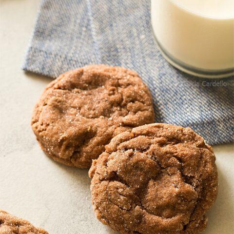 Peanut Butter Nutella Crinkles