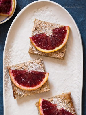 Small Batch Blood Orange Bars