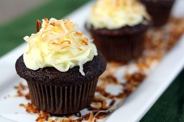 Award-Winning Chocolate Coconut Cupcakes