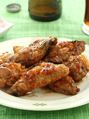 Sweet Chili Baked Chicken Wings