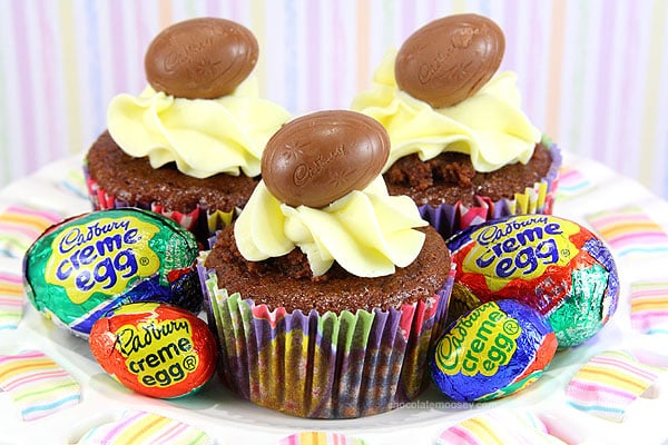 Cadbury Creme Egg Cupcakes – Nothing says love like a cupcake ...