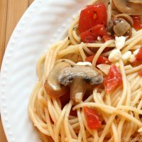 Simple Olive Oil Pasta