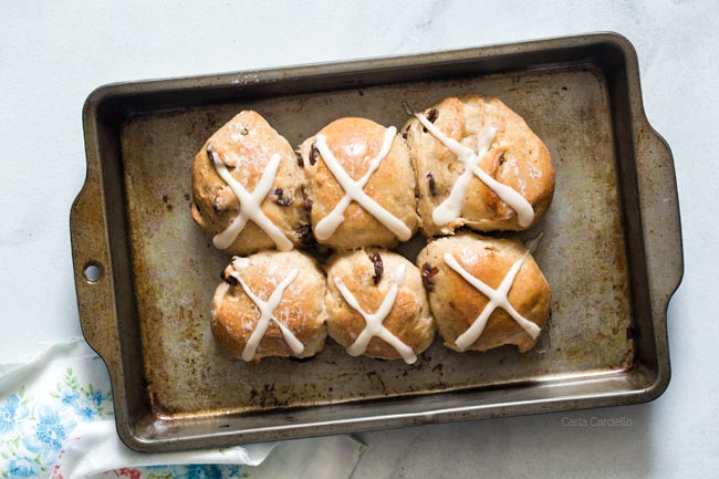 Hot Cross Buns For Two