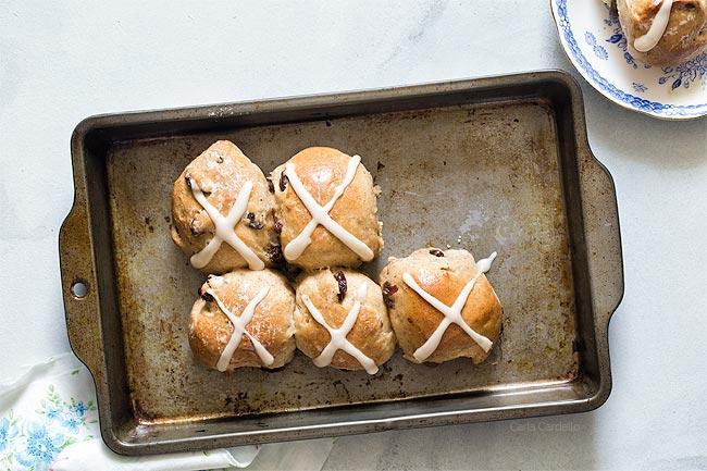Easter Hot Cross Buns Small Batch