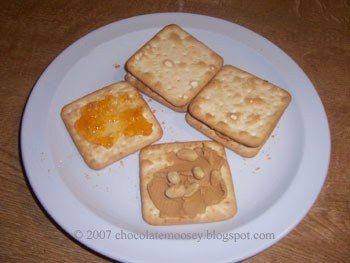 Peanut Butter and Jelly Crackers