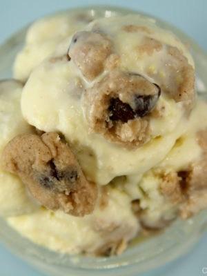 Spiced Cookie Dough Ice Cream