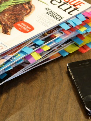 Organizing Your Food Magazines