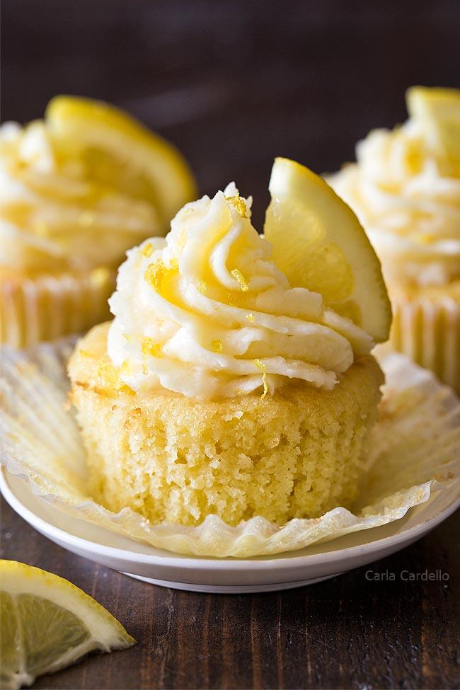 3 Lemon Cupcakes