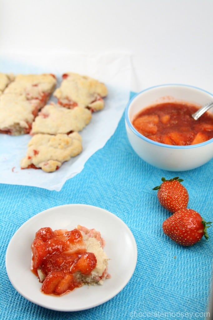 Strawberries And Cream Biscuits Recipes — Dishmaps