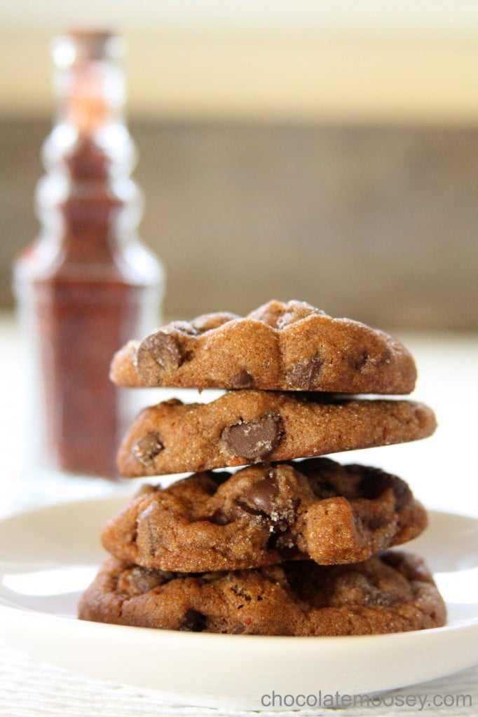 Chocolate Chili Spice Cookies