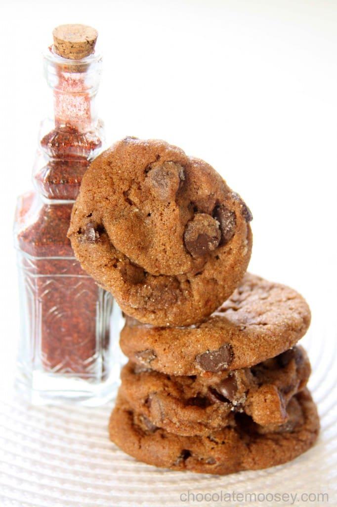 Chocolate Chili Spice Cookies