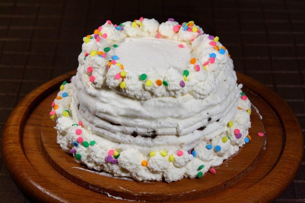 This Particular Cake Is Nutella Ice Cream