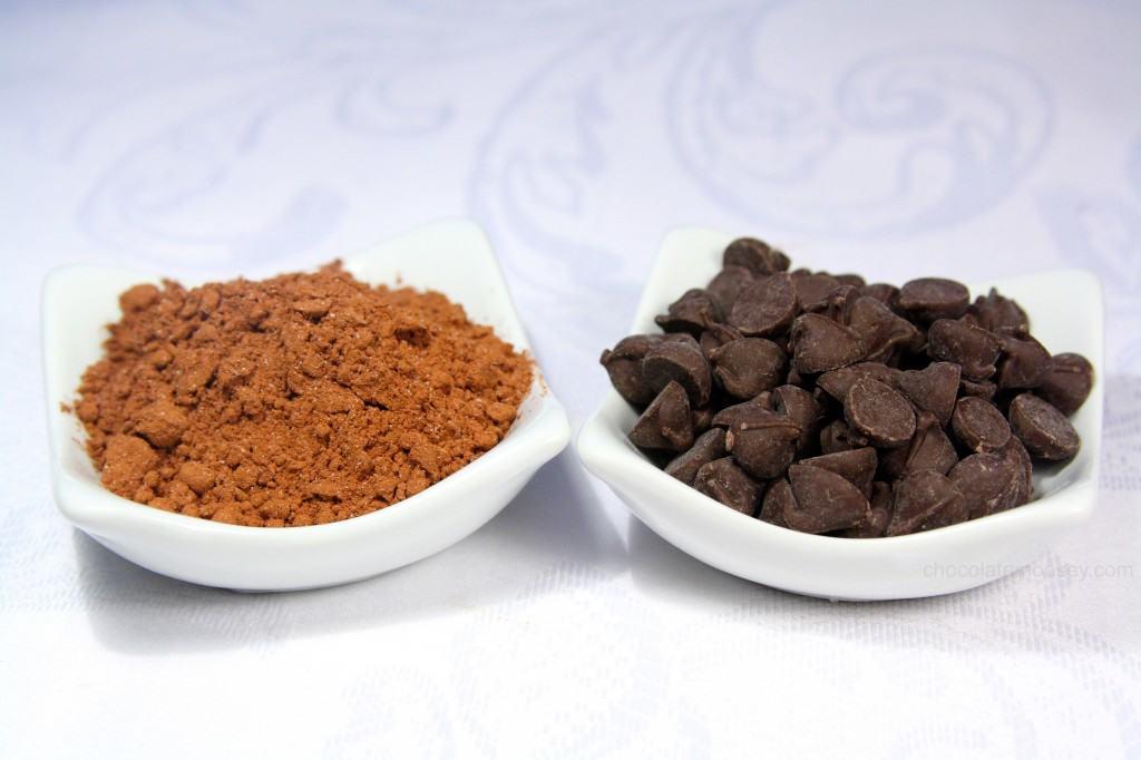 One-Pot Fudgy Raspberry Cocoa Brownies from www.chocolatemoosey.com