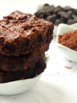 One-Pot Fudgy Raspberry Cocoa Brownies