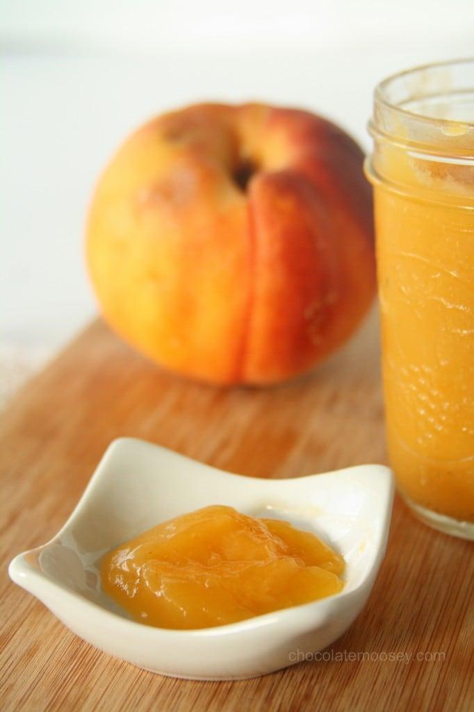 Vegan Peach Curd