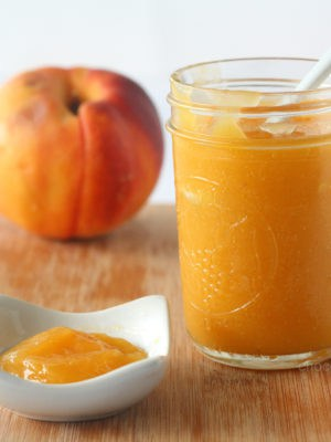 Vegan Peach Curd (Small Batch)