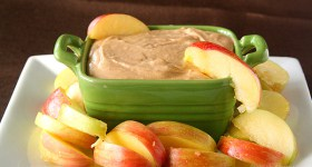 No Bake Caramel Apple Butter Cheesecake Dip