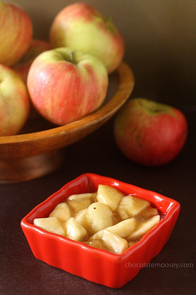 Homemade Apple Pie Filling | www.chocolatemoosey.com