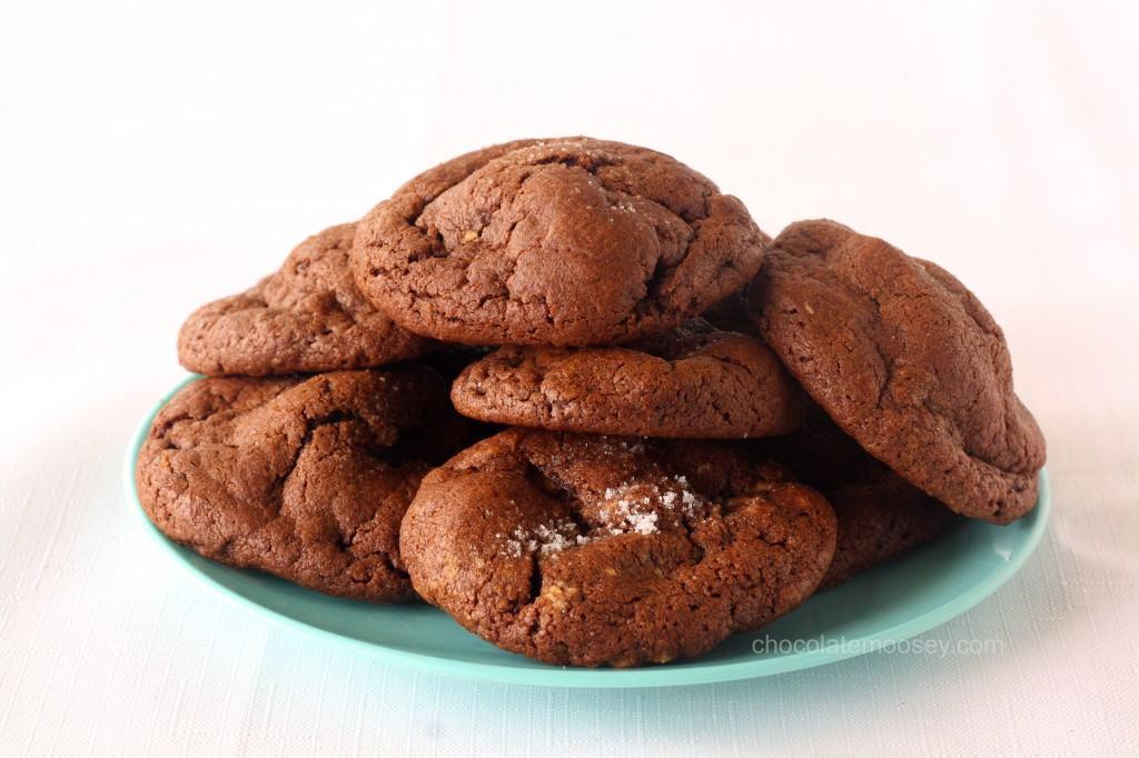 Peanut Butter-Stuffed Chocolate Cookies
