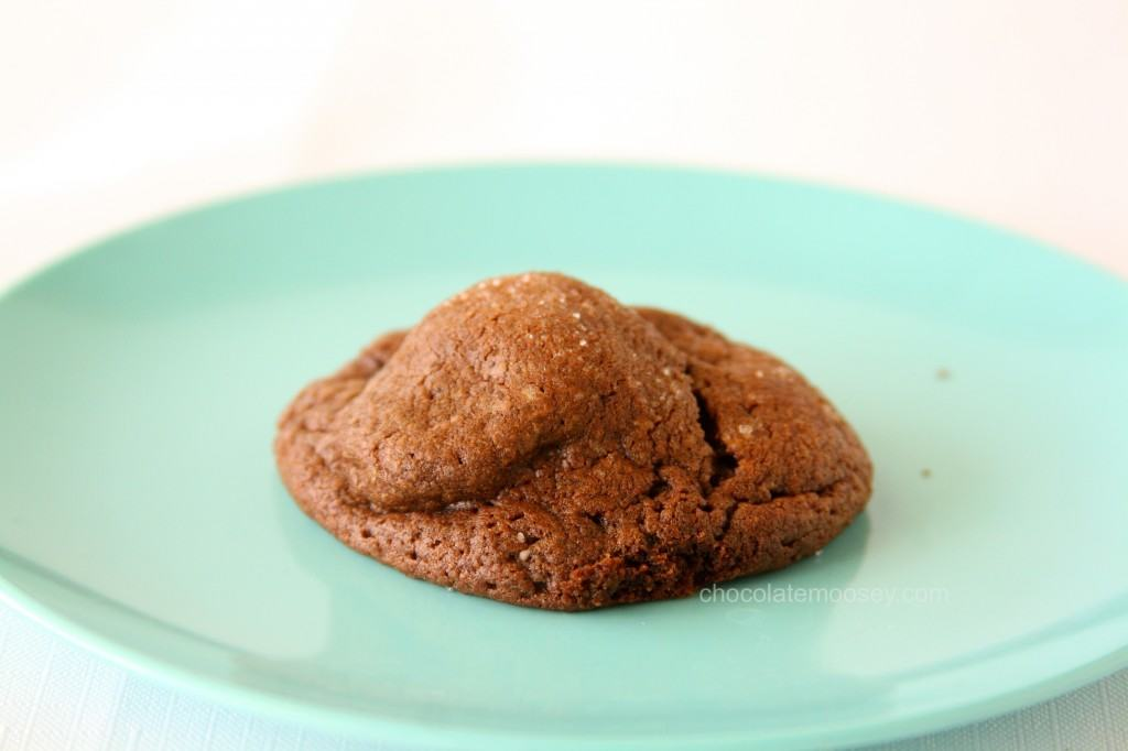 Peanut Butter-Stuffed Chocolate Cookies