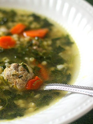 Italian Wedding Soup (Dinner For Two)