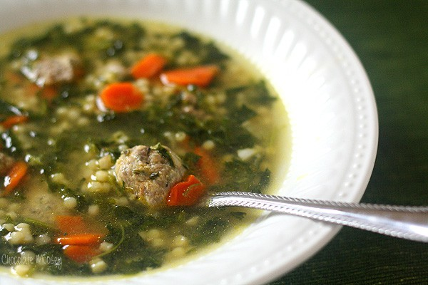 easy Italian Wedding Soup recipe