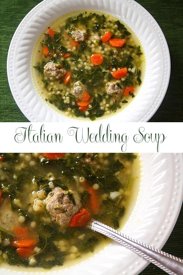 Italian Wedding Soup Dinner For Two