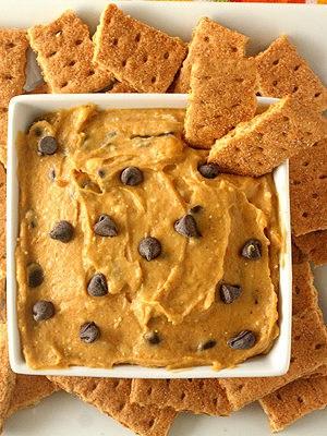 Pumpkin Chocolate Chip Cookie Dough Dip