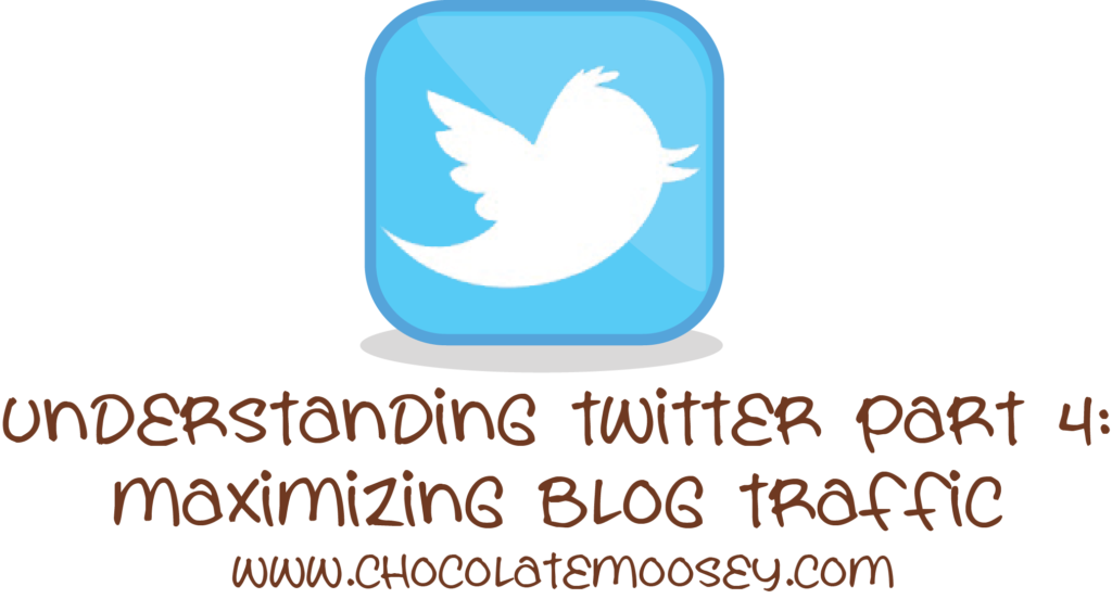 Understanding Twitter Part 4 - Maximizing Blog Traffic