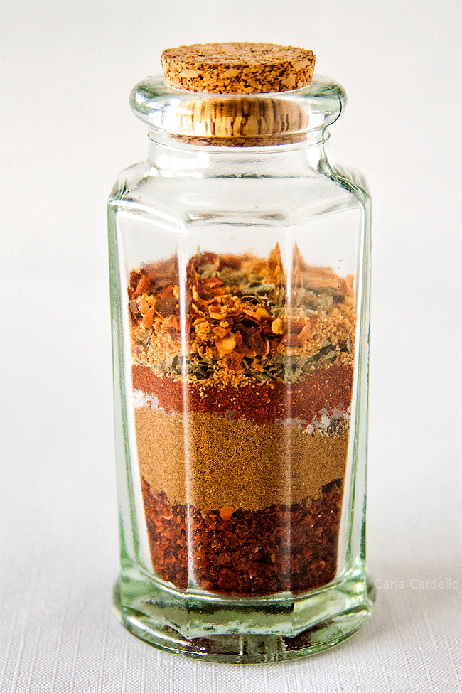 Jar of Fajita Seasoning