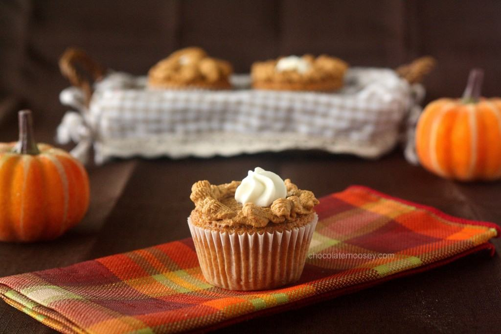 Disappointed, I made Pumpkin Pie Cupcakes. Except I've come to the ...