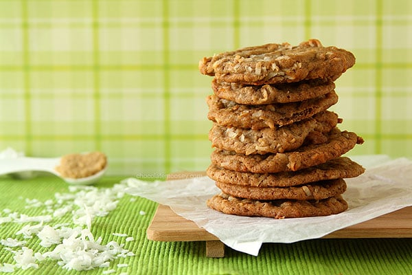 Brown Sugar Cinnamon Coconut Cookies
