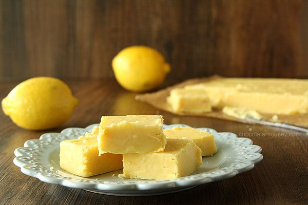 Creamy Lemon Fudge