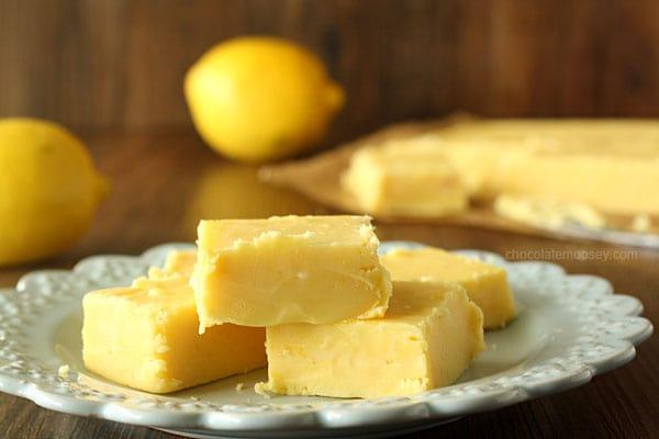 Small Batch Creamy Lemon Fudge In A Loaf Pan Homemade