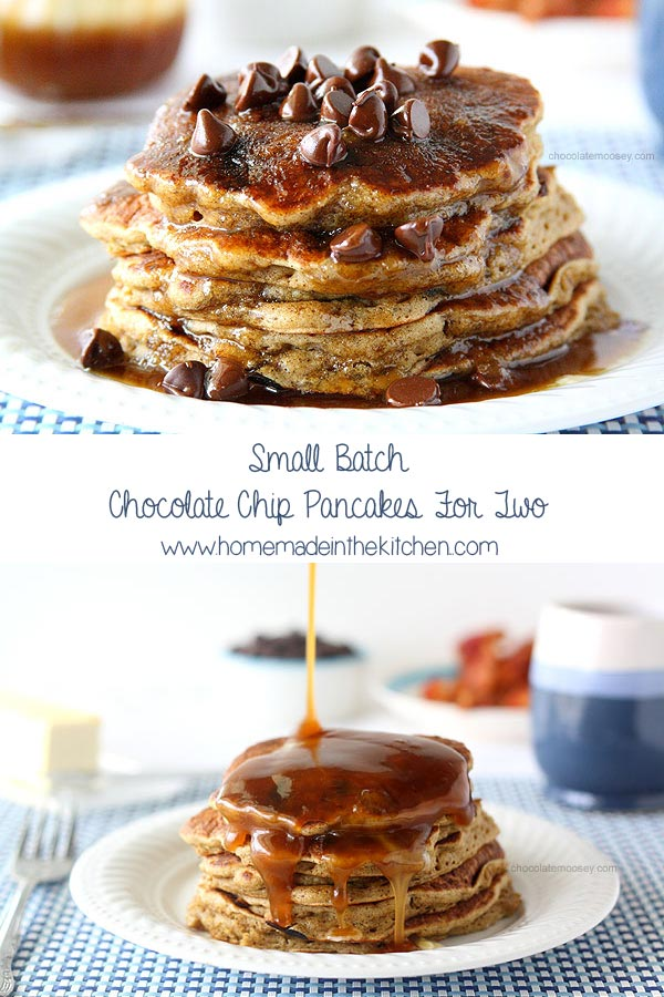 Small Batch Chocolate Chip Pancakes For Two Recipe