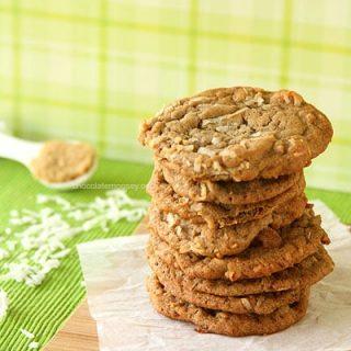 Small Batch Brown Sugar Cinnamon Coconut Cookies