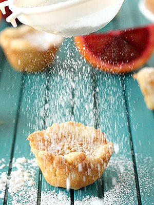 Blood Orange Pie Bites