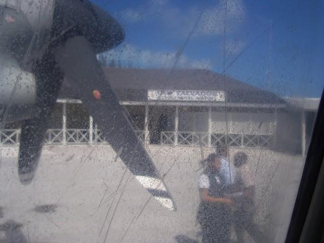 San Salvador airport inside