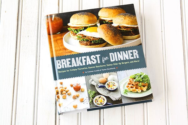 Breakfast For Dinner Cookbook Review | www.chocolatemoosey.com