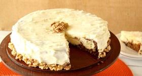Carrot Cake Cheesecake for an elegant yet easy Easter dessert