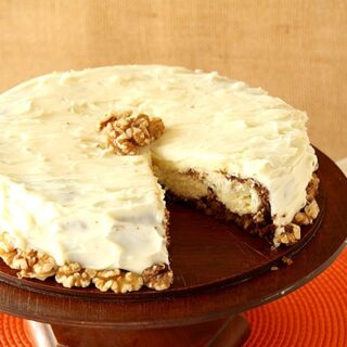 Cheesecake With Carrot Cake