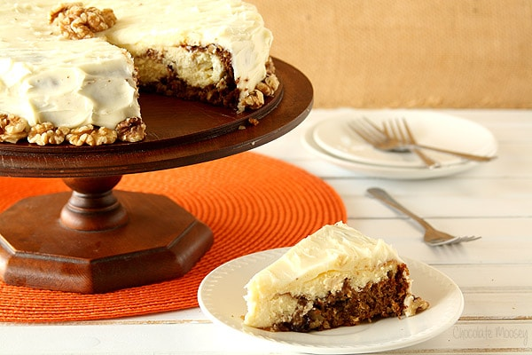 Carrot Cake Cheesecake for an elegant yet easy Easter dessert