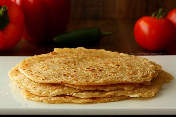 Homemade Spiced Flour Tortillas | www.chocolatemoosey.com
