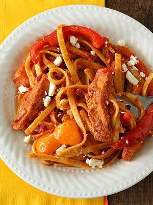 Chicken Fajita Feta-ccine
